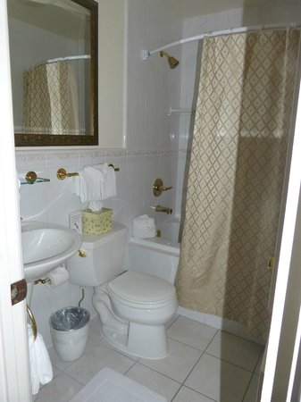Coachman's Inn, A Four Sisters Inn: Charming little bathroom