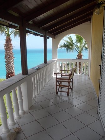 Villa Rosa: Balcony of our 2-bedroomed apartment