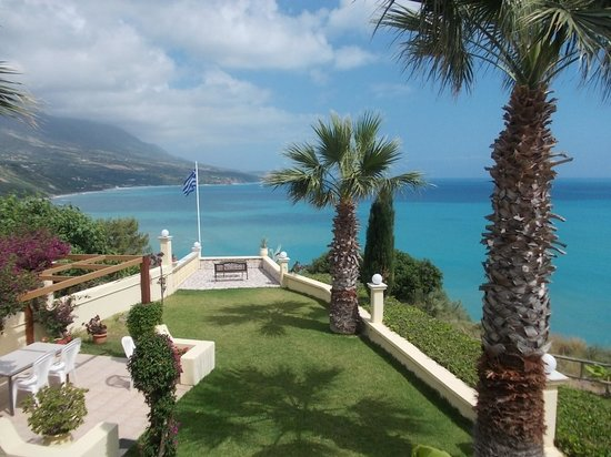 Villa Rosa: View from our apartment