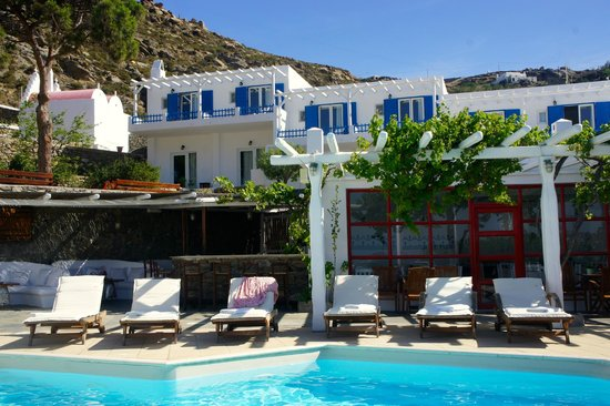 Best Island Beaches For Partying Mykonos St Barts: Rhenia Hotel And Bungalows