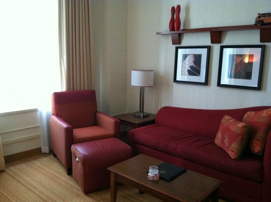 Residence Inn Houston Downtown/Convention Center : Living area (3)