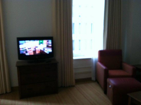 Residence Inn Houston Downtown/Convention Center: Living area (2)