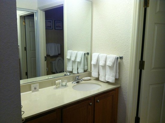 Residence Inn Houston Downtown/Convention Center : Vanity area