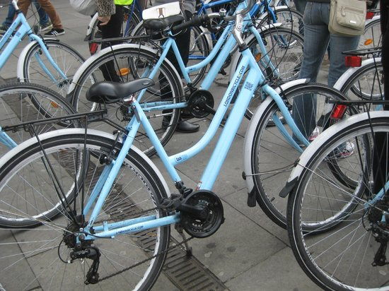 The London Bicycle Tour Company: London Bicycle Tour Company Bikes
