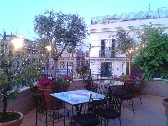 Hotel Dei Consoli: roof garden