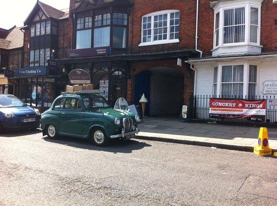 The Bear Hotel Market Place: Lovely village