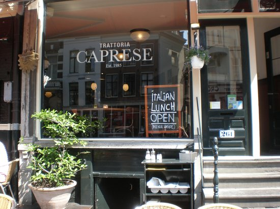 Trattoria Caprese Amsterdam : Restaurant