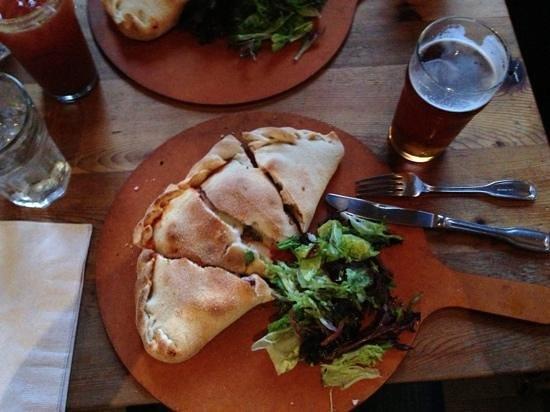 The Bear Street Tavern: calzone