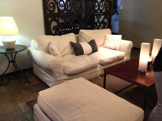 Olive Grove: Restaurant/Lounge corner