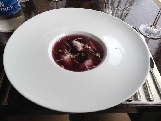 Restaurant Fraiche: soup