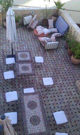 Riad 53: première terrasse