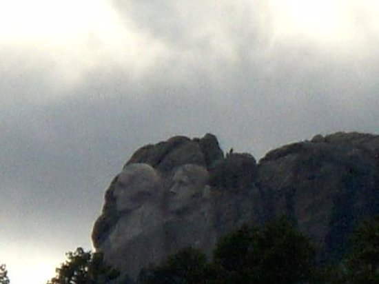 Mt. Rushmore's President View Resort: View from the room