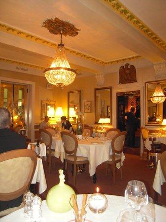 Auberge Napoleon restaurant: La salle