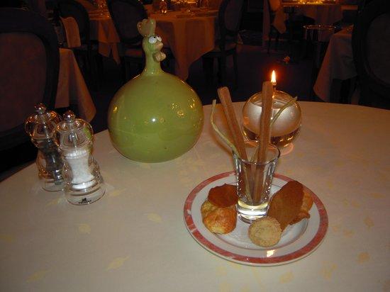 Auberge Napoleon restaurant: Petites mises en bouche...