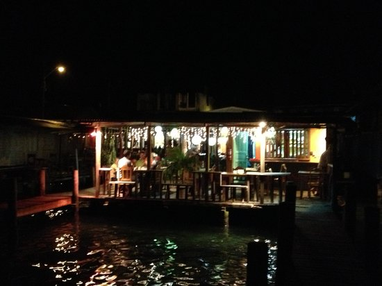 Barracuda: vista dal pontile