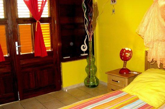 Villa Koulaya Tona: la chambre