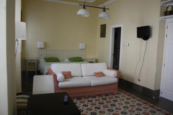 Casa Palacio Lopez Daza : Una de las habitaciones