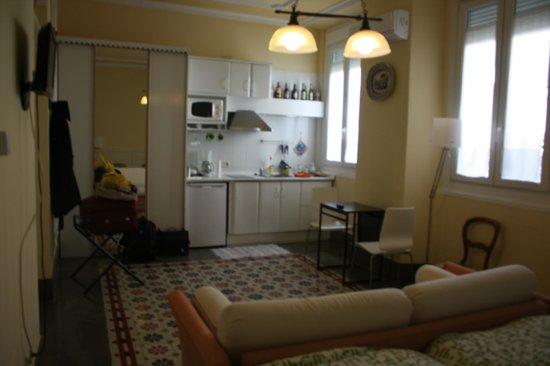 Casa Palacio Lopez Daza : Cocina de la habitación