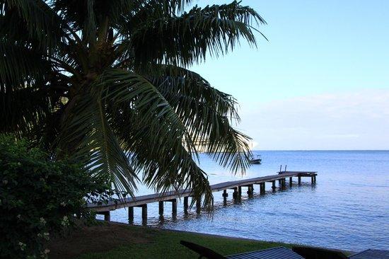 Fare Vaihere: vue de la plage