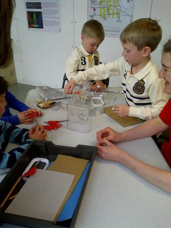 Cambridge Science Centre: intense work on an amazing science project