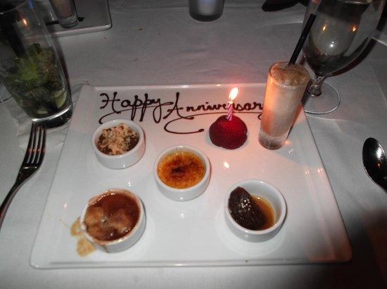 3030 Ocean: Our dessert course