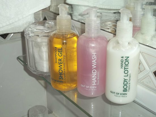 Glenfern Guest House: Beautiful Toiletries