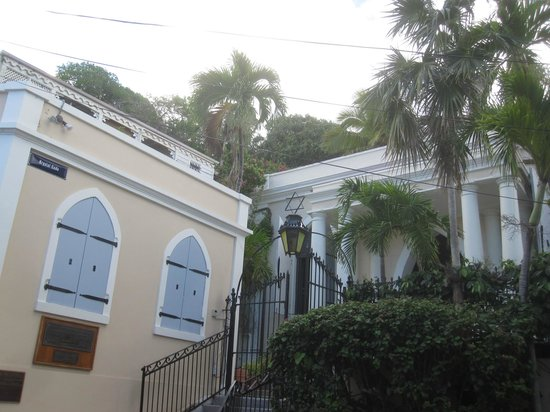 Charlotte Amalie synagogue founded in 1796, the present building in use since 1833.