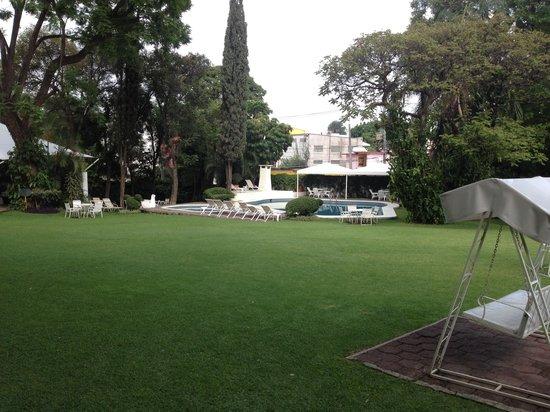 Posada Quinta Las Flores: Jardin