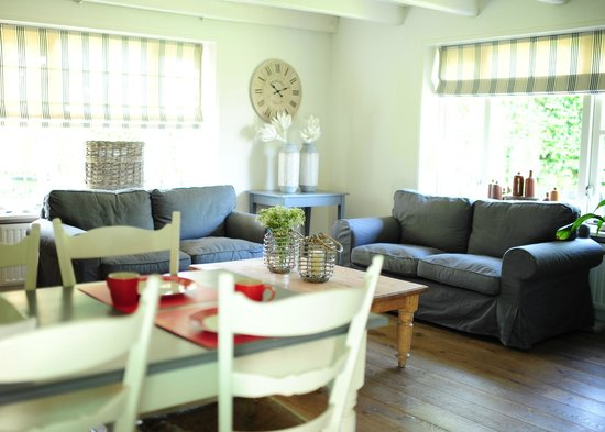 Bed and Breakfast Hartje Ouddorp : sfeervolle eigen zithoek