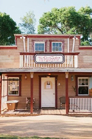 Blazin' M Ranch: Part of the western town
