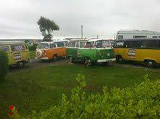 Sextons Caravan and Camping Park: Eireball Charity Run Sextons 2012