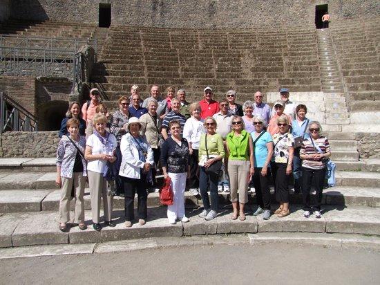 Leisure Italy - Tours : Giuseppe shot this one in the Amphitheatre, Pompeii