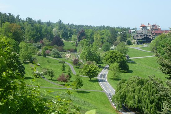 Mohonk Mountain House: View from a different trail
