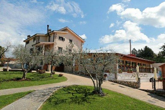 Gallicano nel Lazio, Italië: vista ristorante