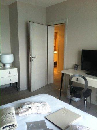 Hôtel Le Pinarello : notre suite. le plus dure fut de la quitter