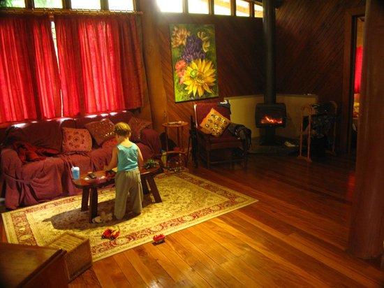 Black Sheep Farm: Lounge/Fire