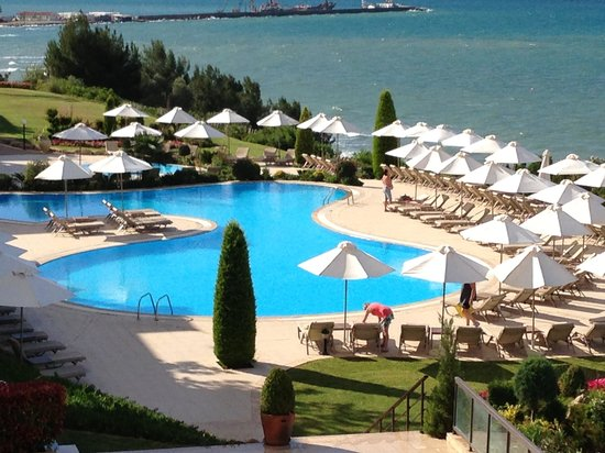 Ikos Oceania - Ikos Resorts: Our view from room 5302