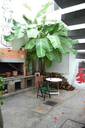 Sur Hostel: Terraza