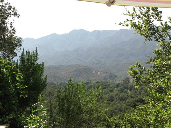 Ojai Retreat & Inn: View From Garden Room Patio