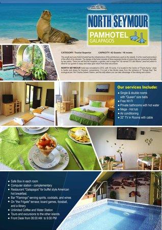 North Seymour: SERVICIOS DEL HOTEL