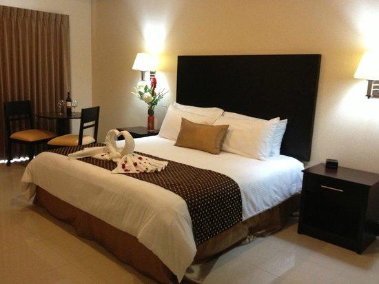 Hotel y Restaurante El Guarco: Habitación Junior Suite,  arreglada para bodas u/o eventos especiales