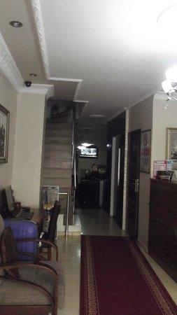 Galata Istanbul Hotel: Lobby