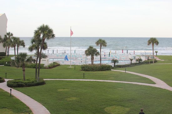 Errol by the Sea: View from room 313