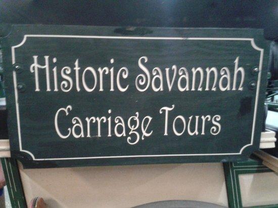 Historic Savannah Carriage Tours : carriage ride