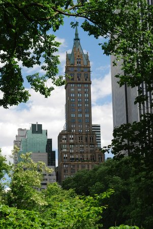The Sherry-Netherland Hotel: View from Central Park