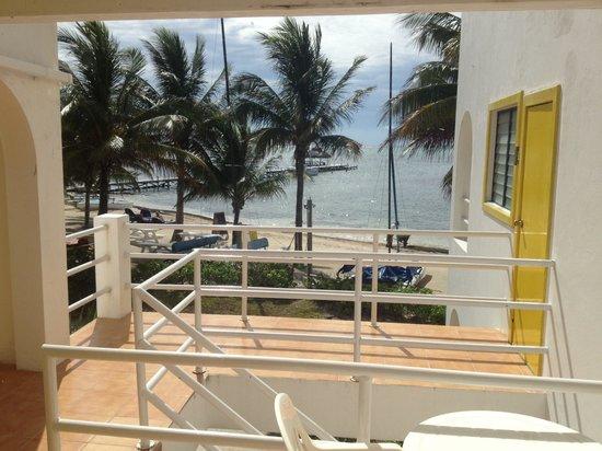 Caribbean Villas Hotel: View
