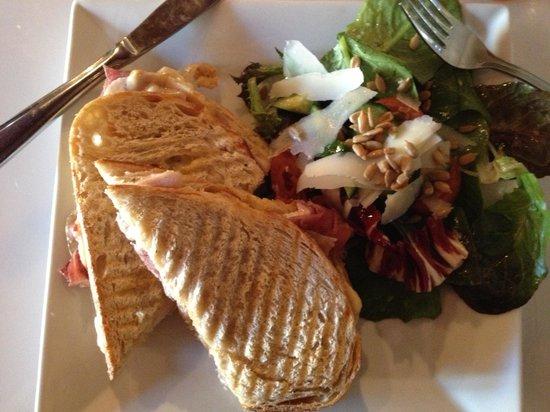 The Wine Bar: Tuscan panini