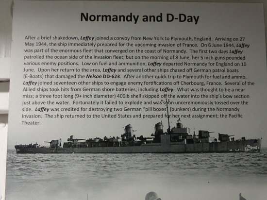 Patriots Point Naval & Maritime Museum: USS Laffey Normandy and D-Day