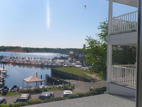 Inn at Harbor Hill Marina: View 1 of marina, note balconies to the right