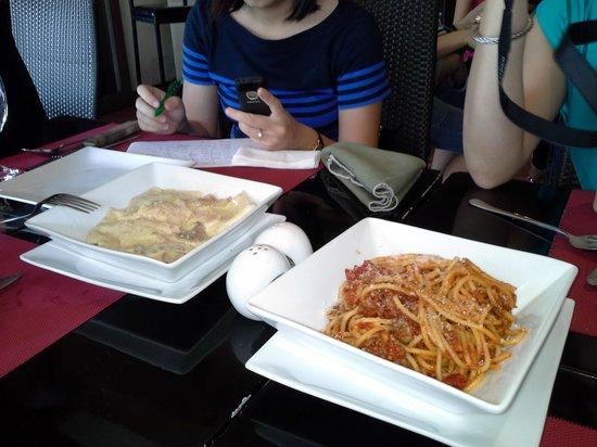 Giuseppe's Italian-Filipino: Cream and Tomato Pasta Dishes!